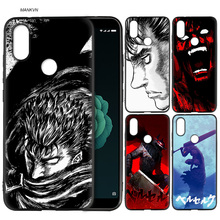 Berserk Guts Anime Cool guys Silicone Soft Case Cover for Xiaomi A2 Lite A1 Redmi S2 Note 5 Plus 6 6A 4 4X Pro Poco F1 Pocophone