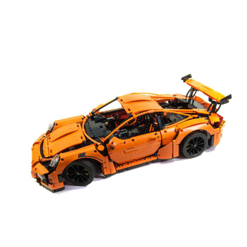 LEPIN 20001 technic series Race Car Model Building Kits Blocks Bricks Compatible 42056 Boys Gift Educational Toys lepin 21003 series city car classical travel car model building blocks bricks compatible technic car educational toy 10252