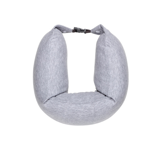 Original Xiaomi 8H U Shape Memory Foam Neck Pillow Antibacterial Portable Travel 8H Eyes Mask Cushion Lunch Break Pillows 2