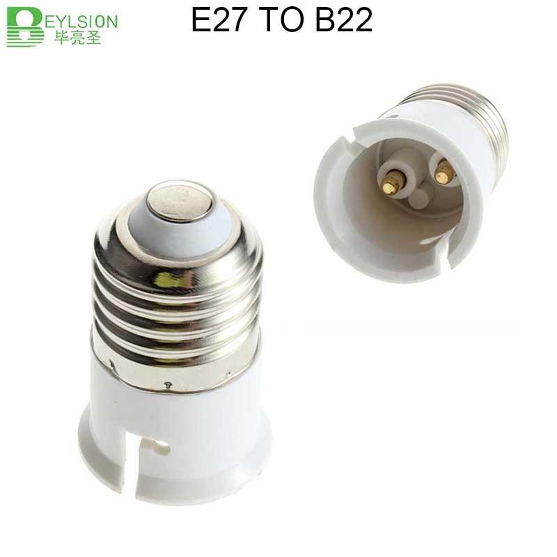 0625 E27 to B22 Socket Light Bulb Lamp Holder Adapter 7