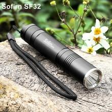 Sofirn SF32 LED Flashlight 18650 Powerful Cree XML LED Flash
