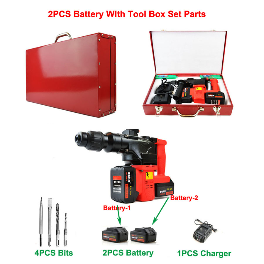HTB1VLZjX3sSMeJjSspeq6y77VXas - 15000 25000mAh Heavy Industrial Wall Hammer Cordless Drill Rechargeable Samsung Lithium Battery Electric Hammer Impact Drill