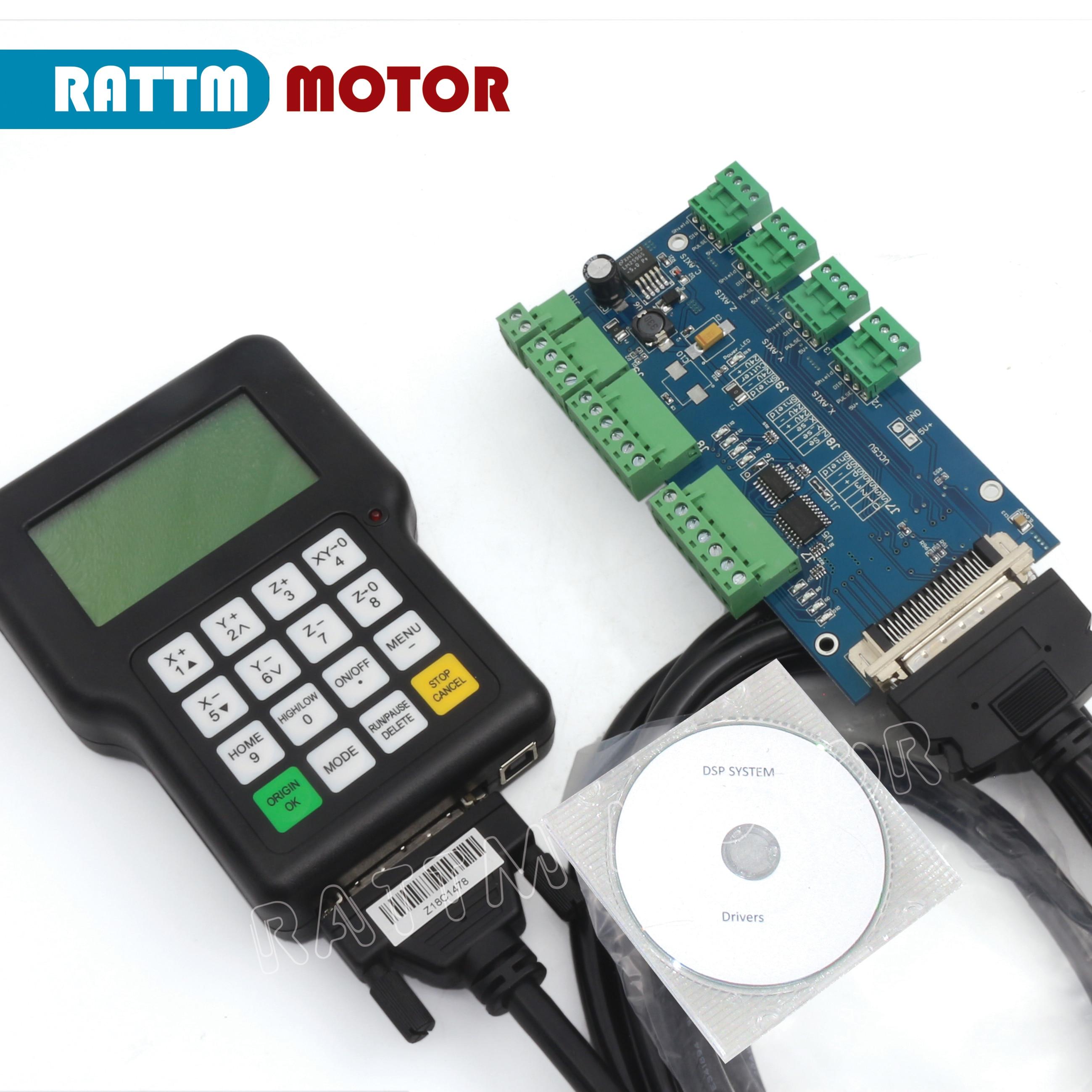 EU Lieferung!! 3 achsen DSP Griff controller A11 0501 CNC Router Maschine für CNC router/cnc stecher 3 achsen CNC router fernbedienung