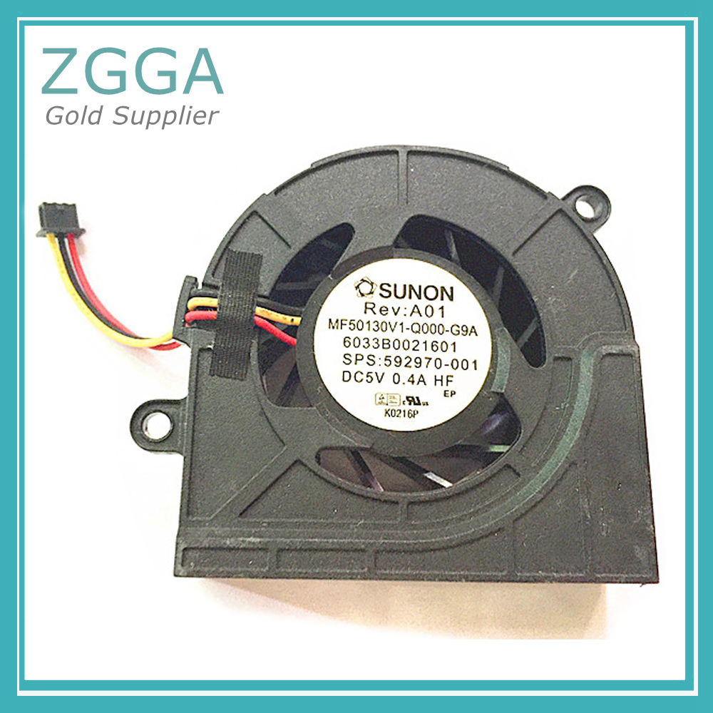 HP 592970-001 Processor cooling fan assembly