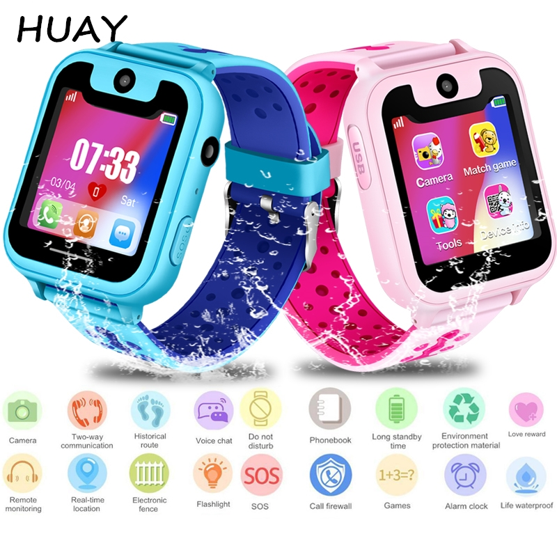 Back To Search Resultswatches 2019 New Childrens Smart Phone Watch Ds39 Smart Watch Anti-lost Gps Tracker Remote Photography Kids Smartwatch For Android Ios