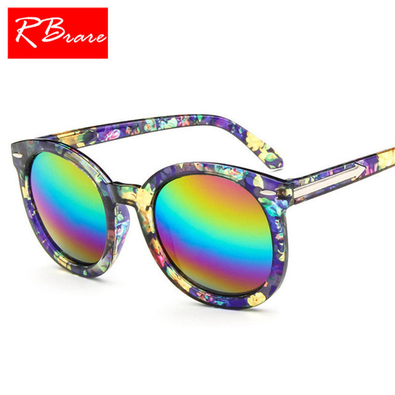 5ff97765620 RBRARE 2018 Classic Round Frame Plastic Sunglasses Women Brand Designer  Marble Atterns Luxury Sun Glasses Men Vintage Goggle-in Sunglasses from  Apparel ...