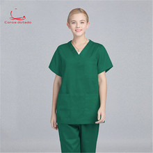 Hand-washing suit set pure cotton operating room clothes womens beauty salon brush work