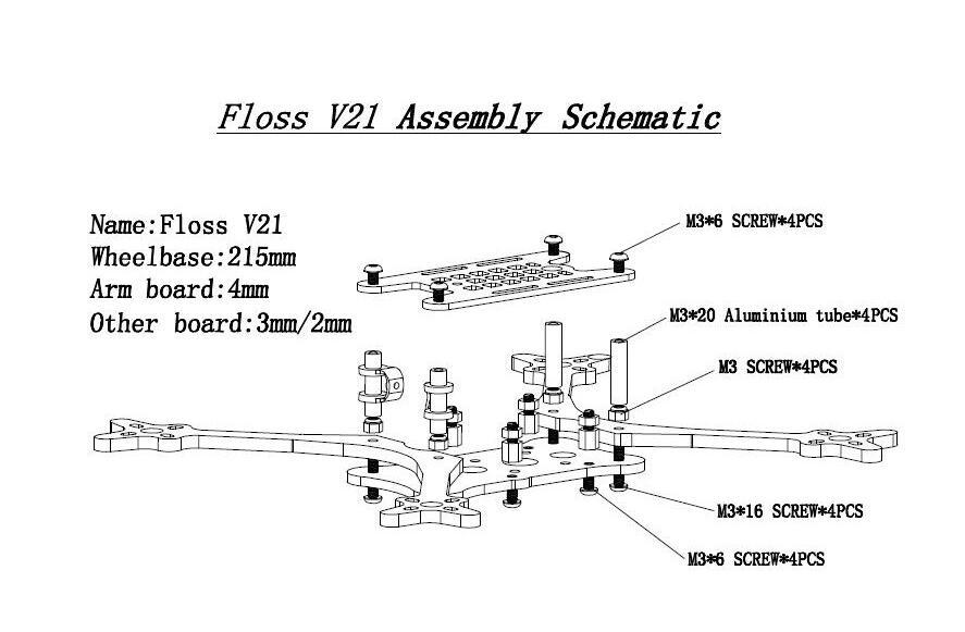 floss V2.1 frame