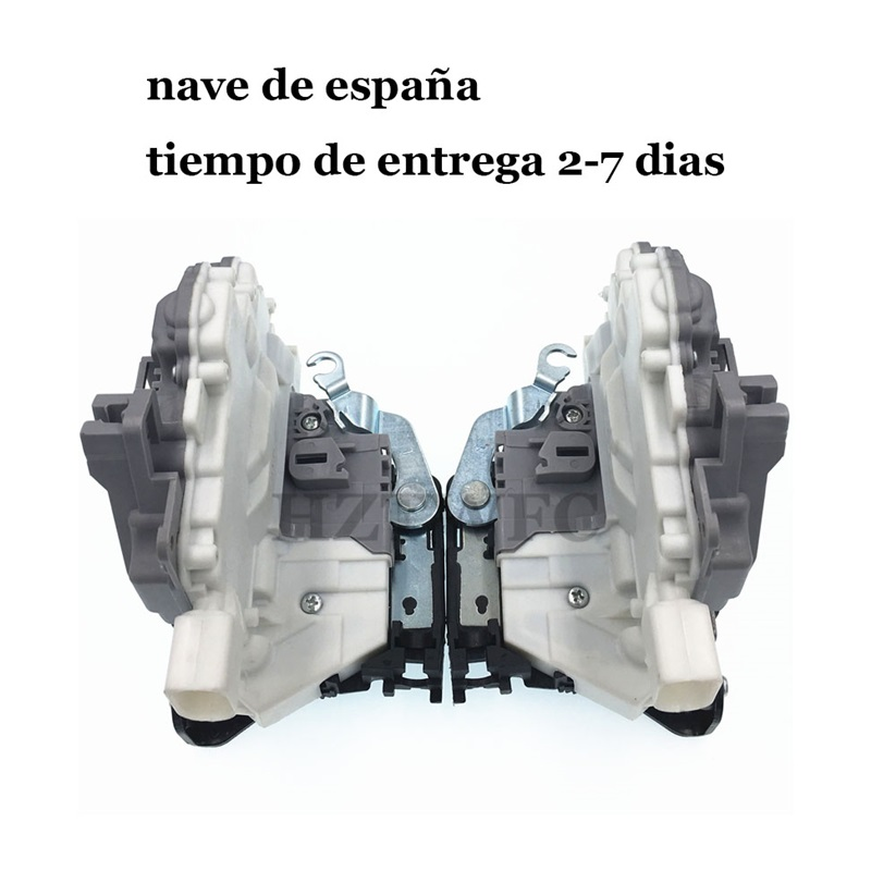 Free Shipping 2Pcs Rear Right&Left Door Lock Actuator For Seat Altea Leon Toledo For VW EOS 1P0839016A 1P0839015A