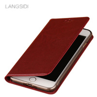 LAGANSIDE Brand Phone Case Clamshell Car Line Zhen Pattern Phone Case For IPhone X Cell Phone