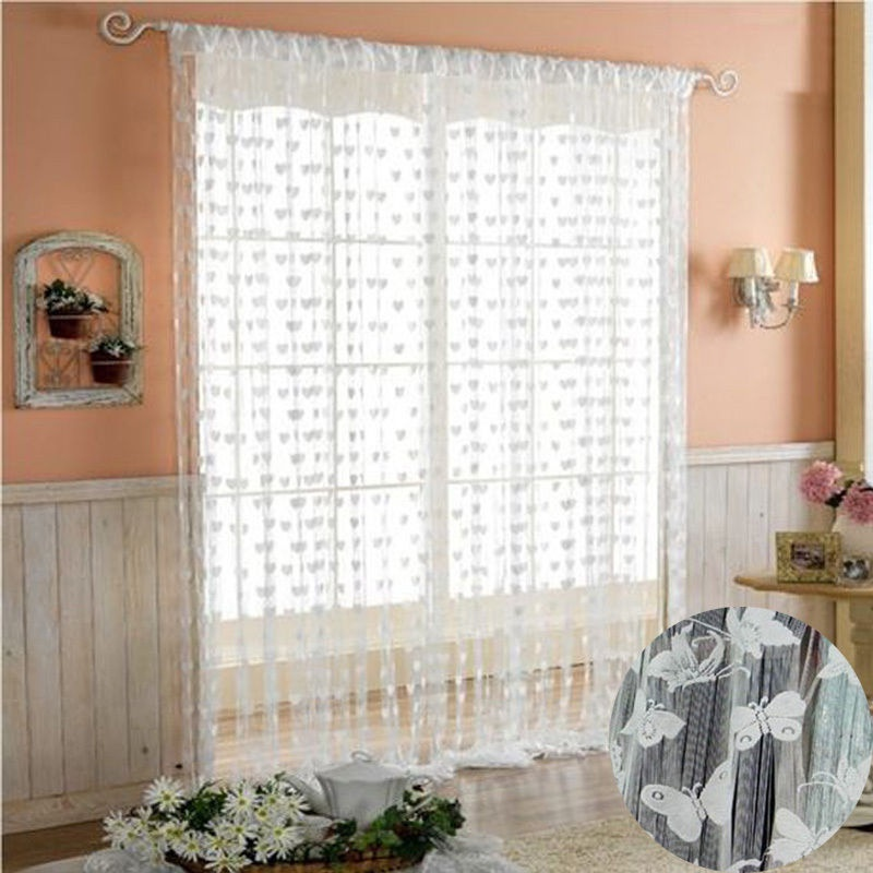 21m String Curtain Tassel Window Door Decor Panel Divider Yarn String Curtain Living Room Bedroom Kitchen (3)