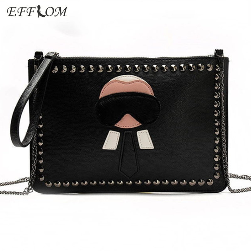 Luxury Handbags Women Bags Designer Rivet Envelope Clutch Chain Crossbody Bags For Ladies Hand Bag Stud Evening Purses Clutches day clutches women bags female shoulder bags leather handbag black purses crossbody bags for women envelope girl ladies hand bag