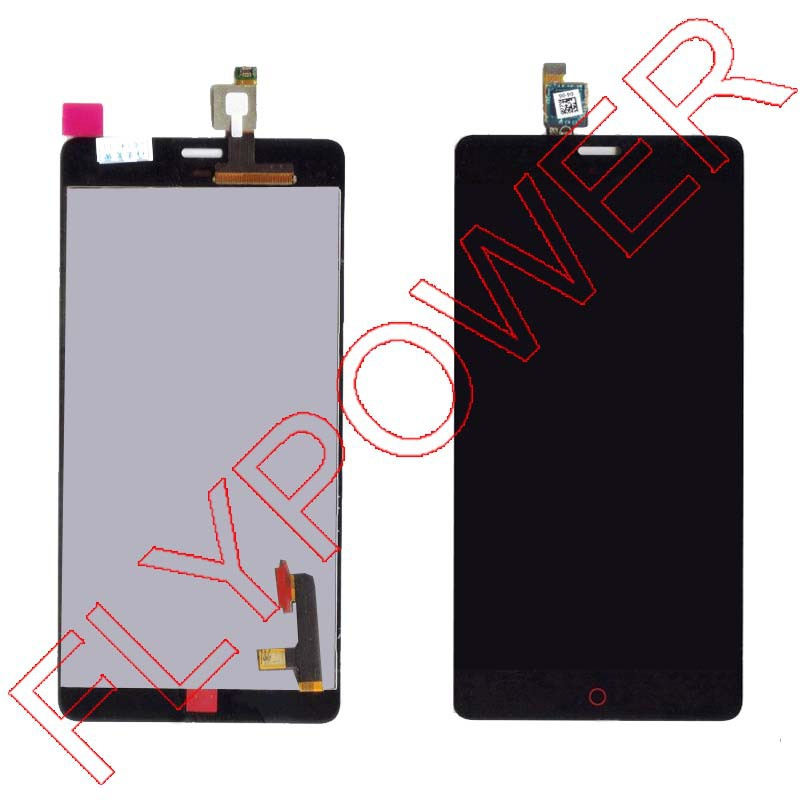 FOR ZTE Nubia Z9 MAX NX510J LCD Screen Display+Touch Digitizer Assembly by free shipping;black;HQ;