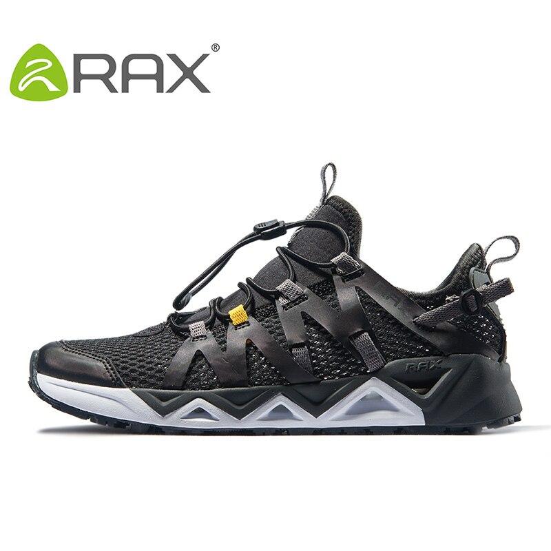 Rax Для мужчин Aqua верховьях обувь быстросохнущие водонепроницаемая обувь дышащая прогулочная обувь против скольжения водонепроницаемая об...