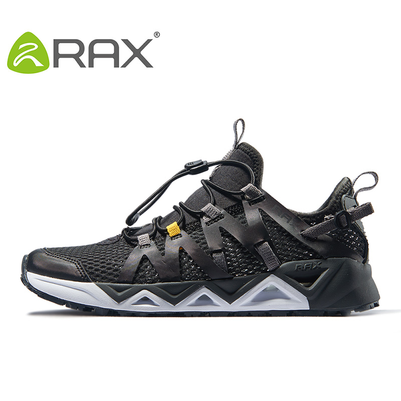 Rax Для мужчин Aqua верховьях обувь быстросохнущие воды дышащие туфли обувь для ходьбы противоскользящие водонепроницаемая обувь Легкий Рыба...