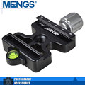 MENGS DC-50 Quick Release Clamp 3/8 Inch Camera Screw Compatible Arca Swiss And Manfrotto 200PL Quick Release Plate(14120001601)