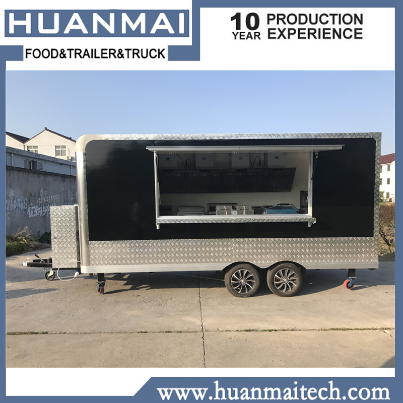 US $11700 0 |Mobile Food Trucks Concession Food Trailers Catering Street  Food Carts 4800x2100x2600-in Trailer from Automobiles & Motorcycles on