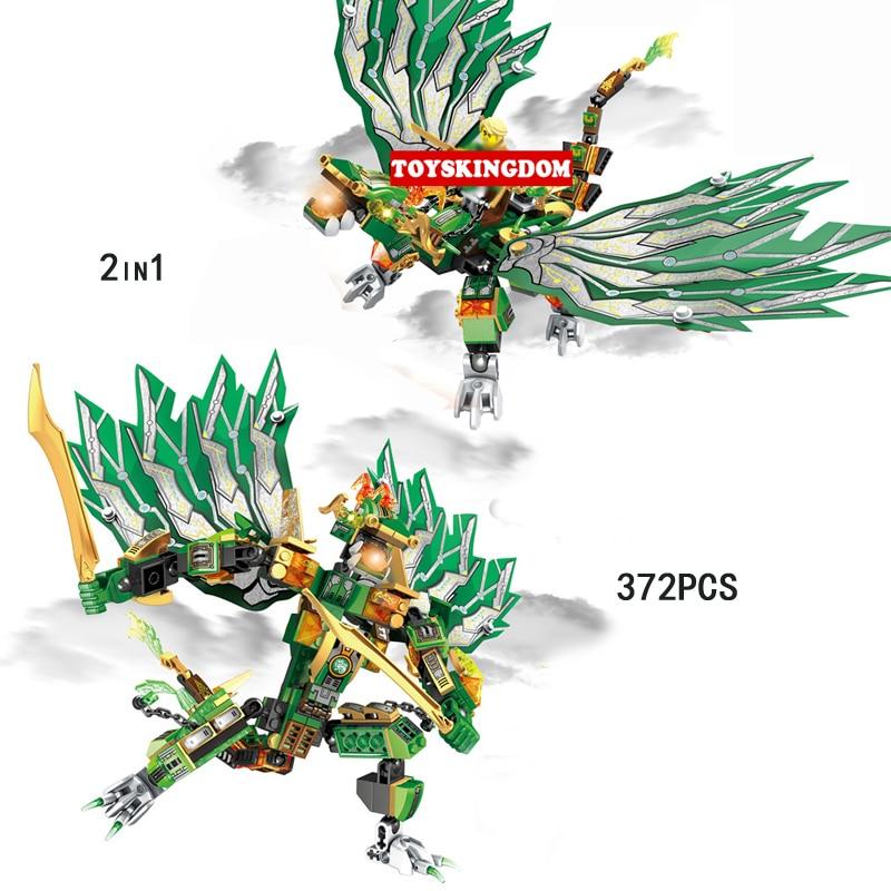 New Phantom Ninja sky dragon mech knights go 2in1 building block llolyd flame devil figures Aerocraft bricks toys for kids gifts phantom kids