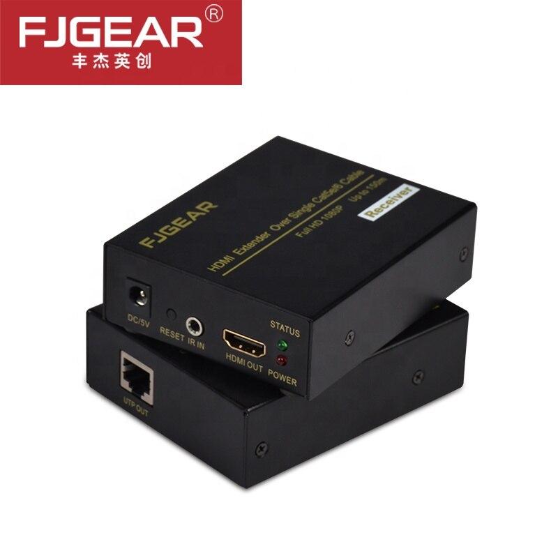 Prolongateur hdmi 150 m sur Ethernet tcp/ip rj45 cat5 cat5e cat6 HDMI séparateur hdmi extender récepteur pour hd DVD PS3