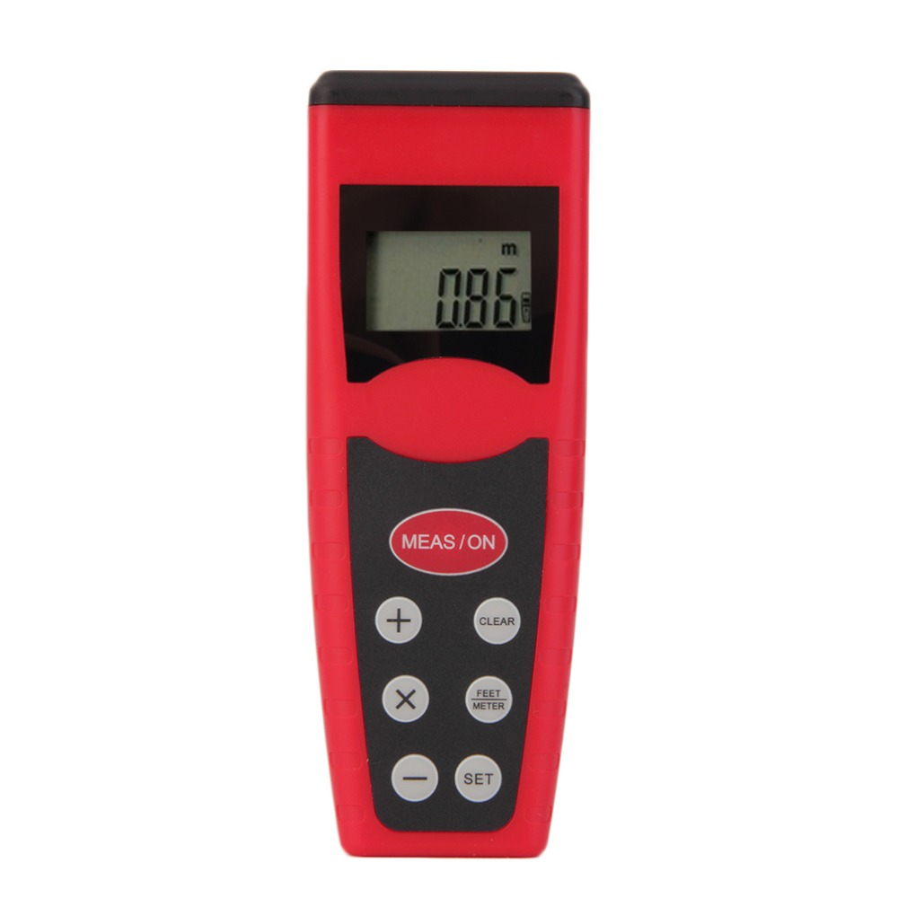 New Ultrasonic Measure Distance Meter Measurer Laser Pointer Range Finder font b Rangefind b font CP3000