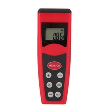 New Ultrasonic Measure Distance Meter Measurer Laser Pointer Range Finder Rangefind CP3000 Beautiful Red Wholesale