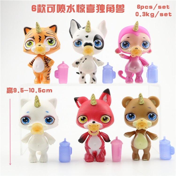 8 Pcs/lot Poopsie Slime Surprise Unicorn Water Jet Glue Doll Toys Hobbies Stress Relief Toy Squeeze For Children Squishy Relieving Rheumatism Toys & Hobbies