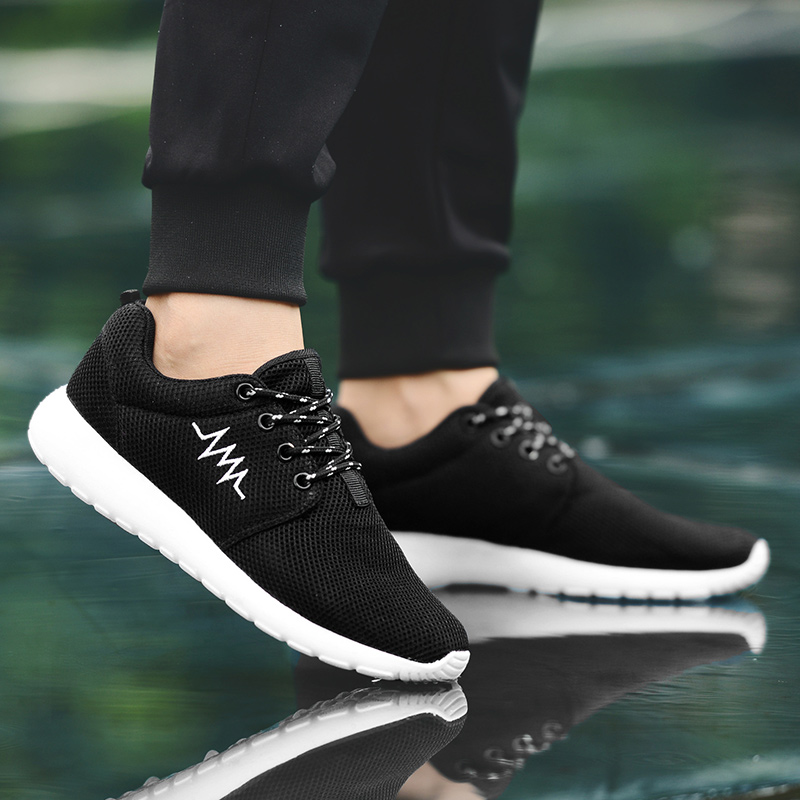 CASMAG Classic Men and Women Sneakers Outdoor Walking Lace up Breathable Mesh Super Light Jogging Sports Running Shoes 45