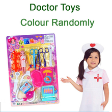 SST* 15pcs/set Child toy artificial armarium Doctor toys Kid's medicine cabinet Children echometer Toy Baby Gift  Pretend Play +