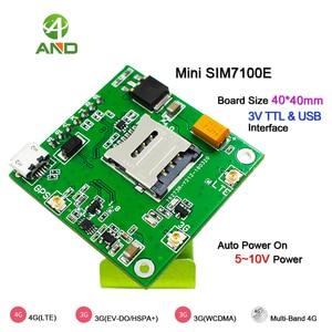 Image 4 - 4g SIM7100E Breakout board, LTE сетевая испытательная плата в Западной Европе с модулем SIM7100E, B1 B3 B7 B8 B20