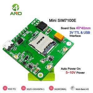 Image 4 - 4g SIM7100E لوحة القطع ، LTE شبكات اختبار المجلس في أوروبا الغربية مع وحدة SIM7100E ، B1 B3 B7 B8 B20