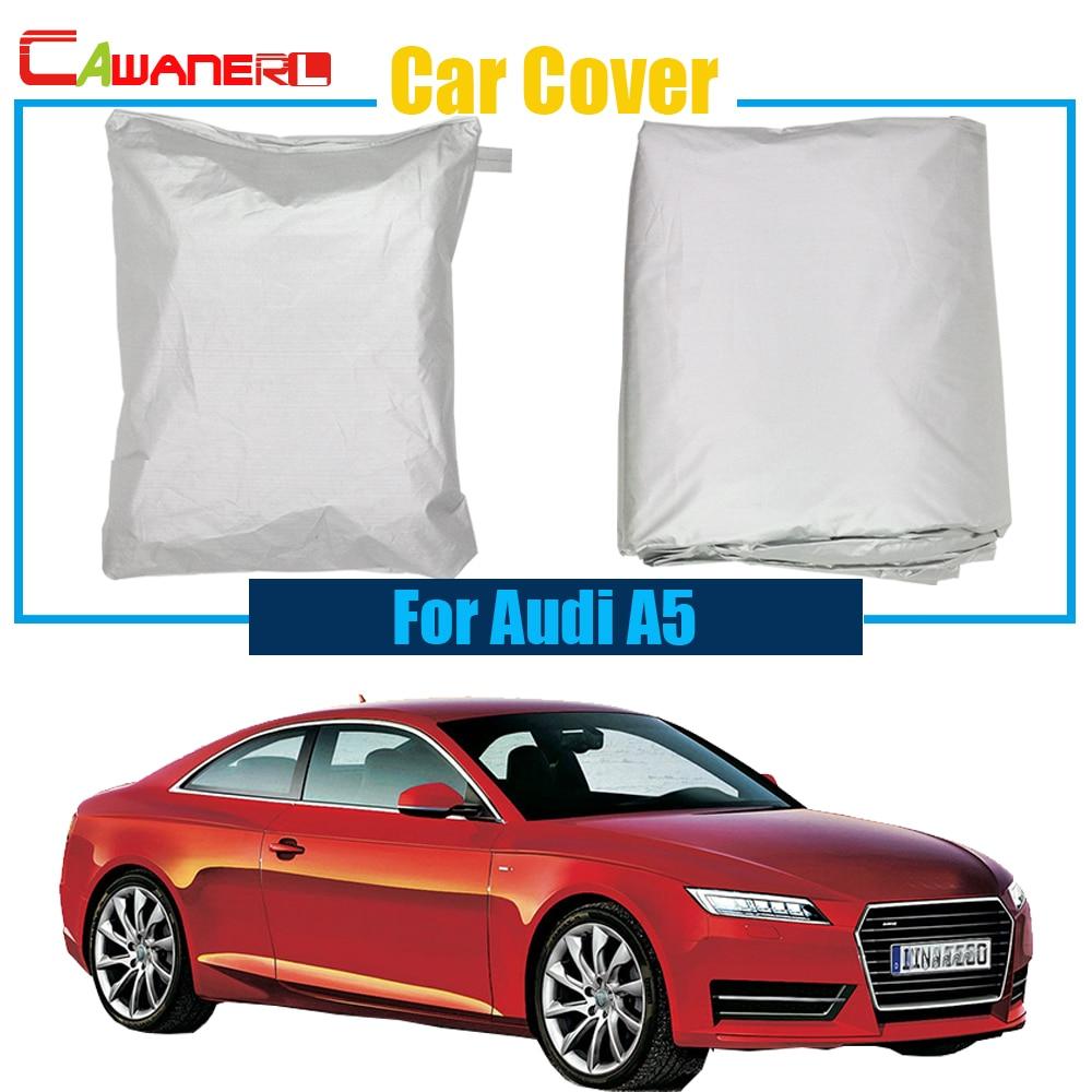 Cawanerl Full Car Cover Snow Rain Sun Resistant Cover Sun