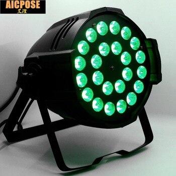 24 Teile/los 24x12 Watt Licht Aluminium LED Par 24x12 Watt RGBW 4in1 LED Par Kann Par 64 Led-strahler Dj Projektor Waschen Beleuchtung Bühne Licht