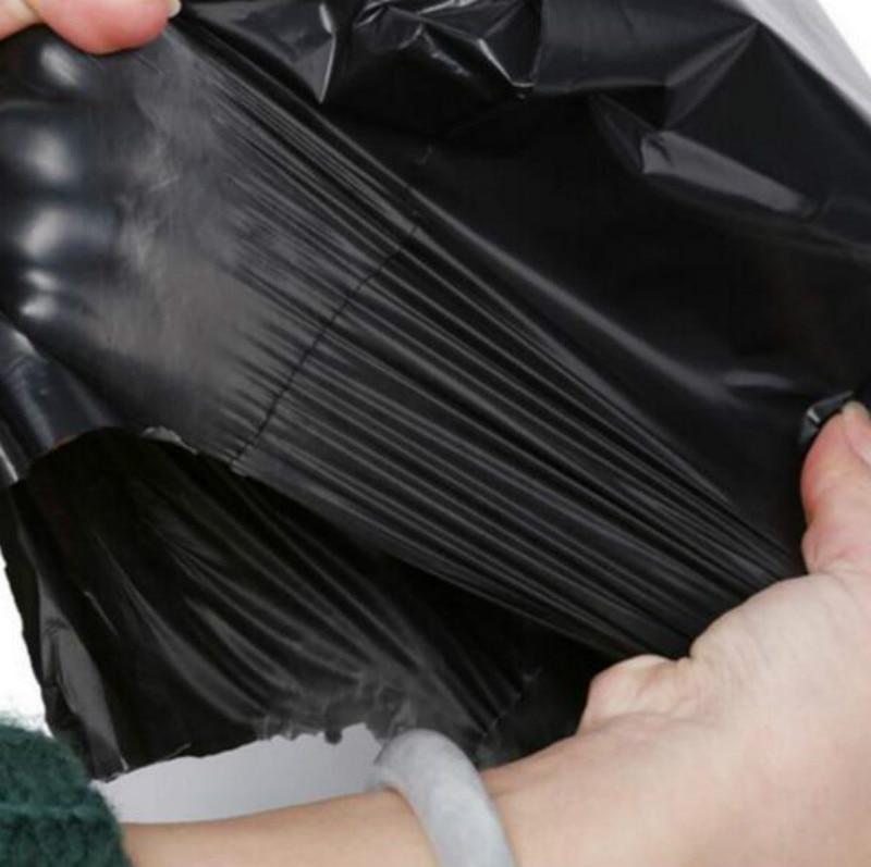 Hurtownie 40*55 cm czarny kolor duża poli samo uszczelnienie torebki wysyłkowe kuriera plastikowe torby z tworzywa sztucznego Express Mailer torba do pakowania PP745 w Torby na prezenty i przybory do pakowania od Dom i ogród na  Grupa 3