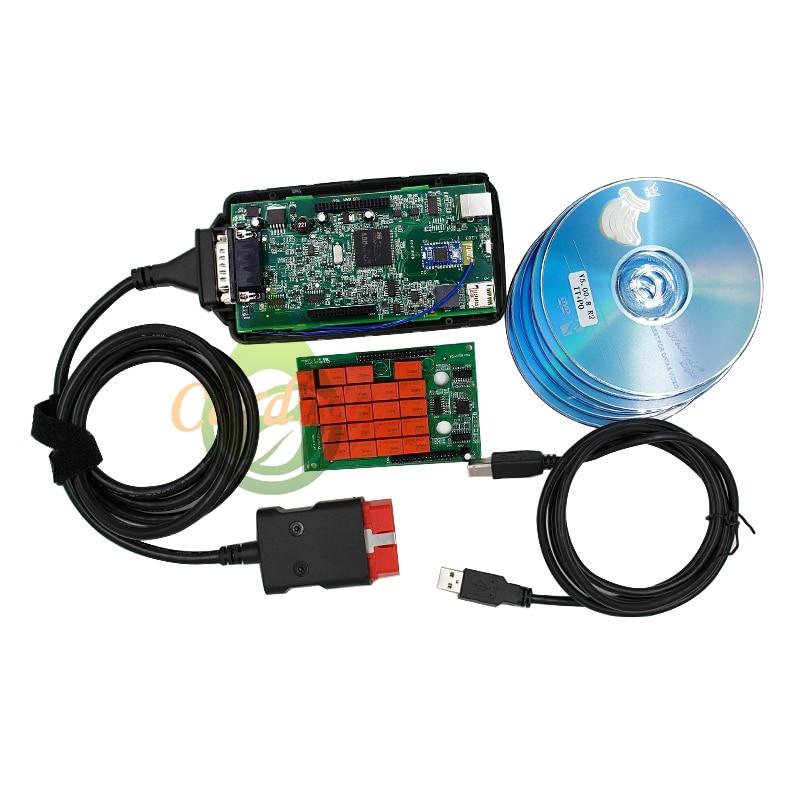 Niesamowite WOW V5.0012 Bluetooth OBD2 Narzędzie Diagnostyczne WOW Interfejs VD27