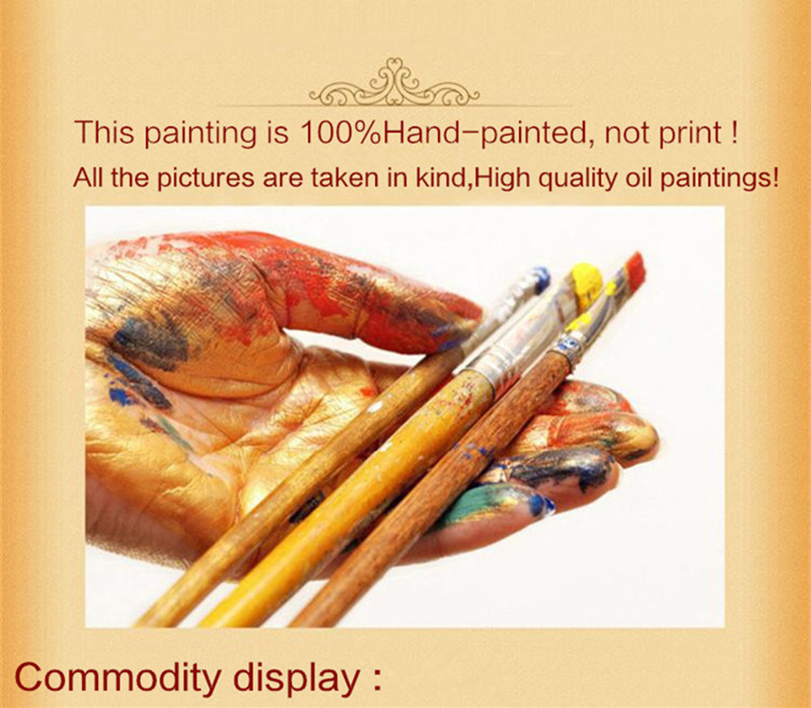 Yağlı rəsm kətan Orijinal əl ilə boyanan müasir divar - Ev dekoru - Fotoqrafiya 6