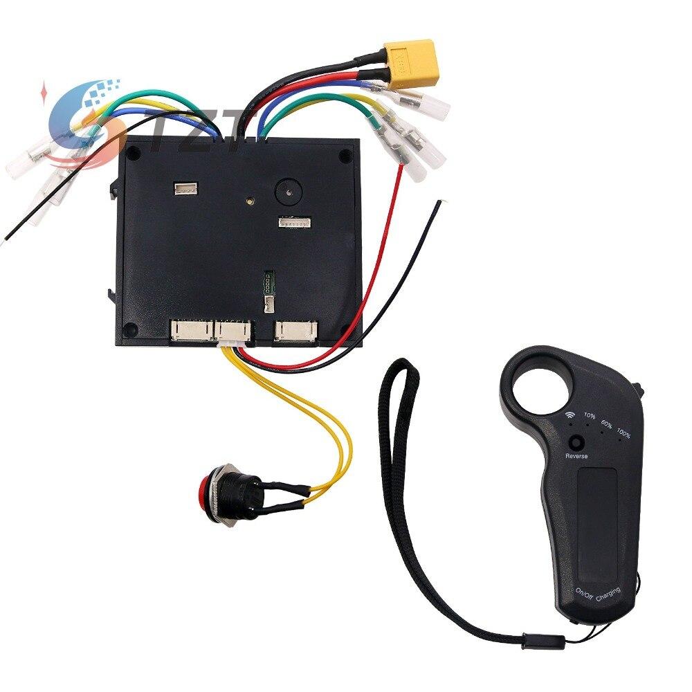 24-36 V contrôleur de planche à roulettes électrique double moteurs avec télécommande ESC substitut solide WX-T3