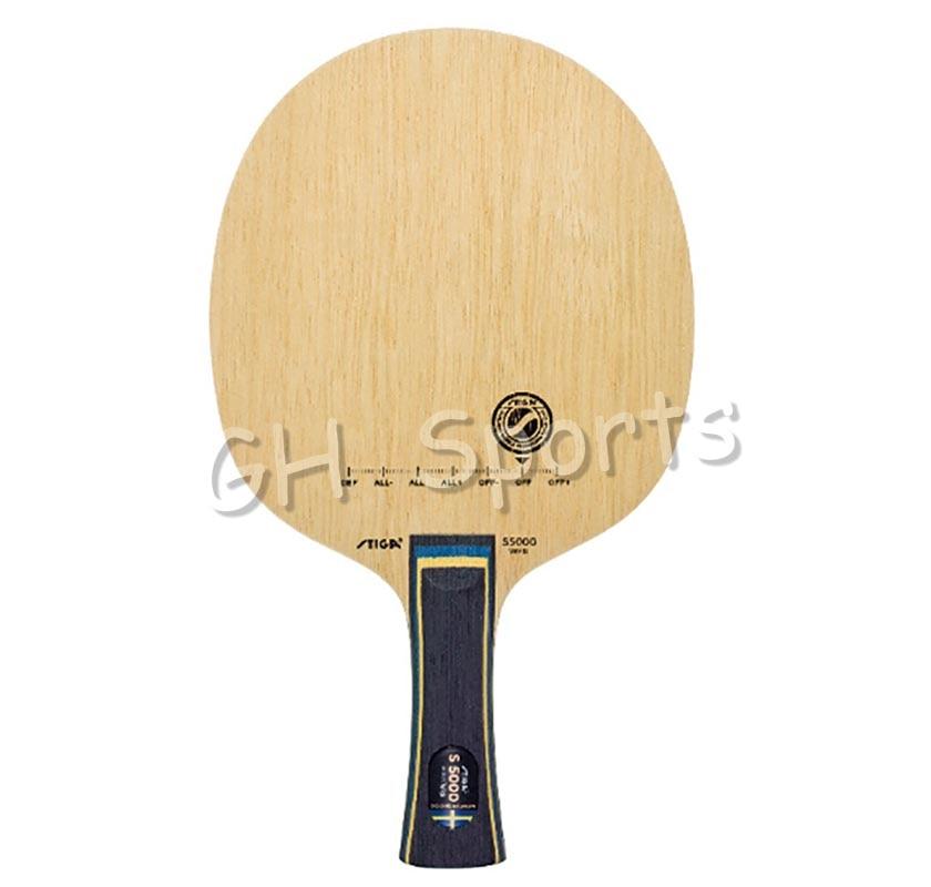 Stiga S-5000 WRB (S 5000 WRB) Table Tennis Blade For PingPong Racket