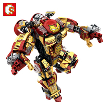 Toys Hobbies - Building  - Sembo Steel Armor Toys Compatible Legos Technic Warrior Toys Action Figures Brinquedos Enlighten Friends Block Toys For Children