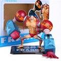 Anime One Piece Zero Dois Anos Depois Do Novo Mundo Franky PVC Action Figure Boneca de Brinquedo Modelo Coleção OPFG226