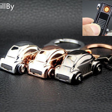 2PCS/LOT Beetle Car Shape Creative USB Charging Cigarette Lighter