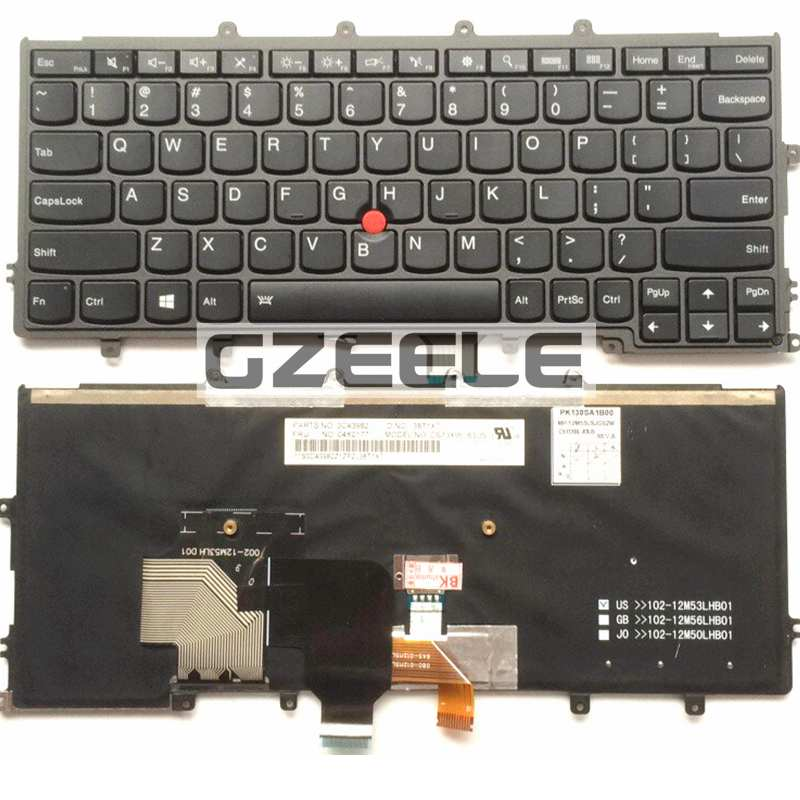 NEW Keyboard for LENOVO IBM Thinkpad x240 x240s x240i x230s X230 X250 X260S US laptop keyboard Backlit  цены