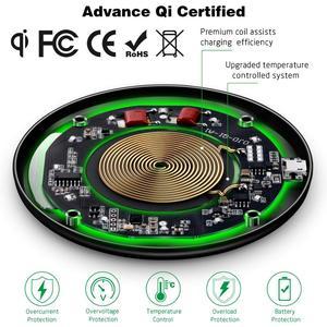 Image 2 - NTONPOWER Qi Wireless ladegerät Empfänger für iphone Android Schnelle Drahtlose Ladegerät 10/7.5/5W für Micro USB Typ C ladegerät Pad Spule
