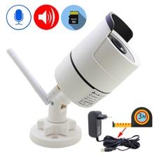 IP Kamera Wifi 1080P 960P 720P Açık CCTV Güvenlik Gözetim 3 Metre Güç Adaptörü Kablosuz Ses Onvif HD Kamera ev kamerası