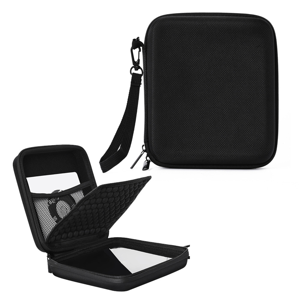 Portable Storage Carrying Case Bag for CD DVD Writer Blu-Ray & External Hard Drive Protective Pouch Sleeve Case