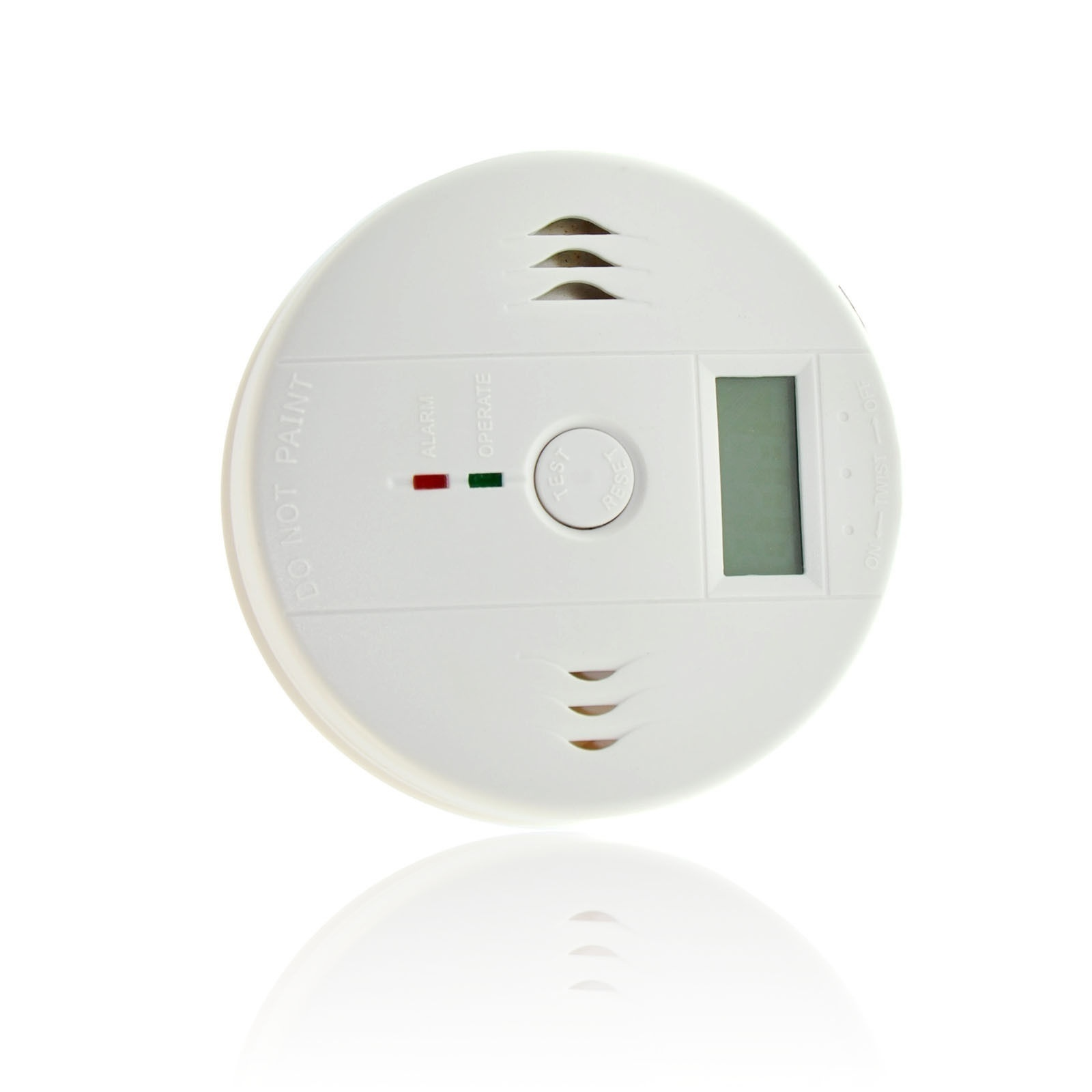 Lcd Co Carbon Monoxide Detector Poisoning Gas Fire Warning Safe Alarm Sensor Gas Analyzers In