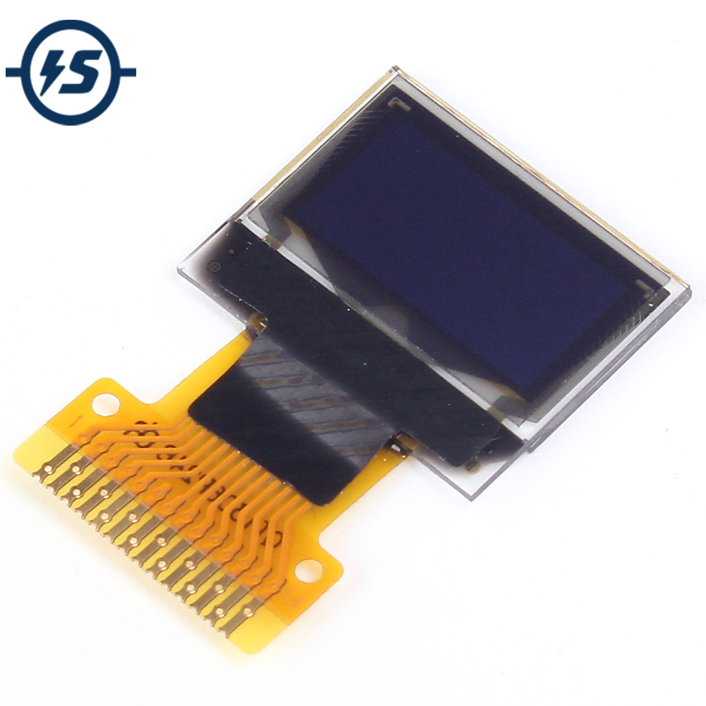 OLED Display Screen IIC For Arduino AVR STM32 SD1306 White 0.49 Inch Module 64x32 0.49