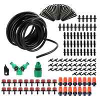5/15/25/30/50M DIY Drip Irrigation System Automatic Watering Garden Hose Micro Drip Garden Watering Kits with Adjustable Dripper