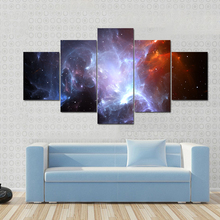 HD Print Painting Picture Poster Canvas Living Room Wall Art 5 Piece For Home Decor Landscape Artwork