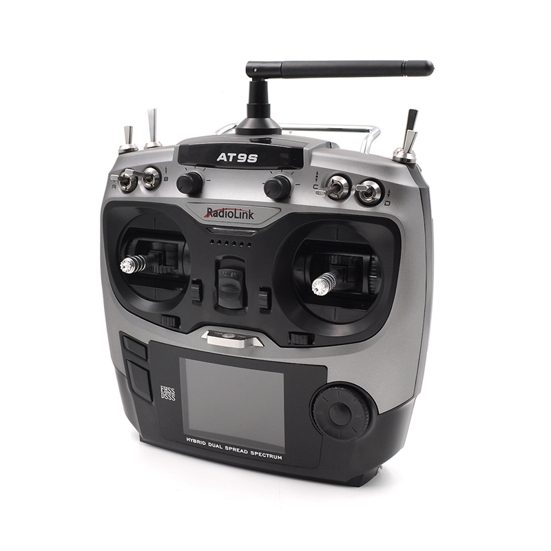 Image 3 - Radiolink AT9S 2.4G 9CH System Transmitter with R9DS Receiver AT9 Remote Control update vision for RC quadcopter Helicopter-in Parts & Accessories from Toys & Hobbies