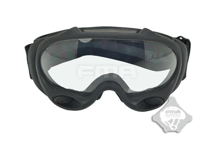 FMA OK ski goggles black and white lenses (DE/BK/Pink) TB958 Free shipping